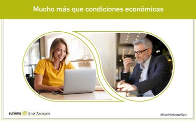 Para mediadores de seguros que buscan mucho más que condiciones económicas