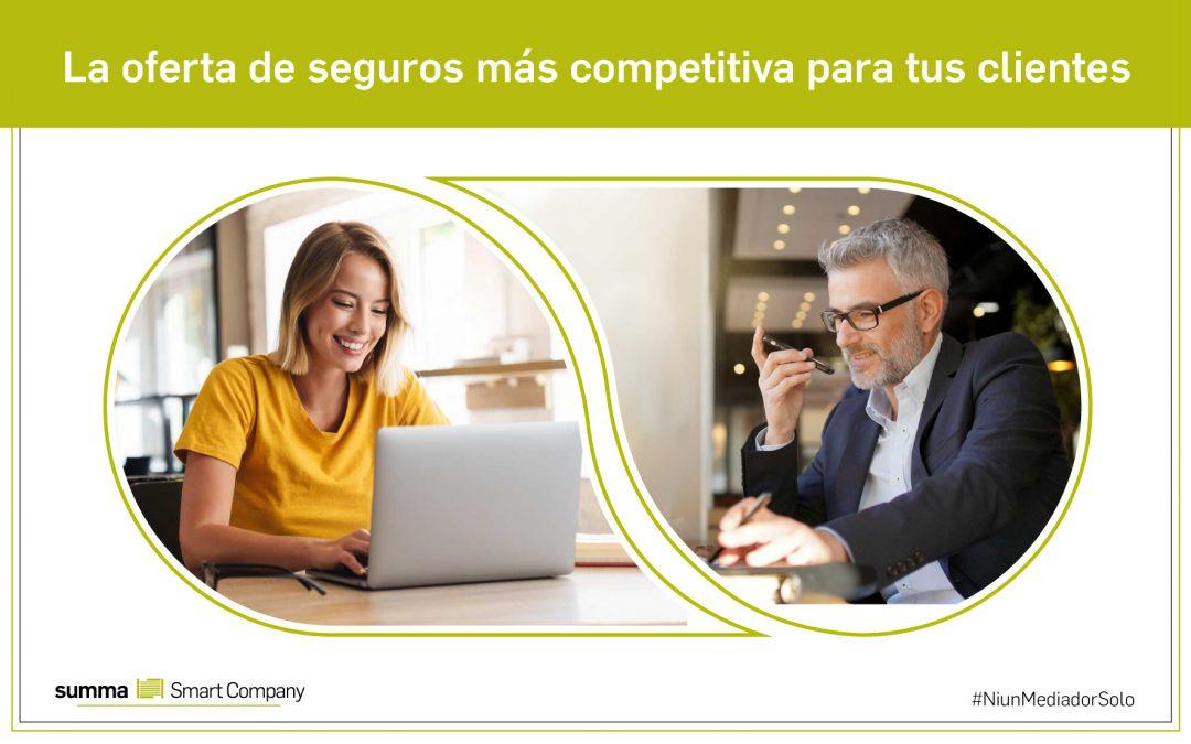Para mediadores de seguros que buscan aumentar su capacidad competitiva