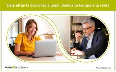Deja atrás la burocracia legal, dedica tu tiempo a la venta